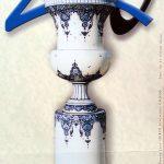 Vase MONUMENTAL Création et exécution de l'émaillage et du décor - CNIFOP 2000